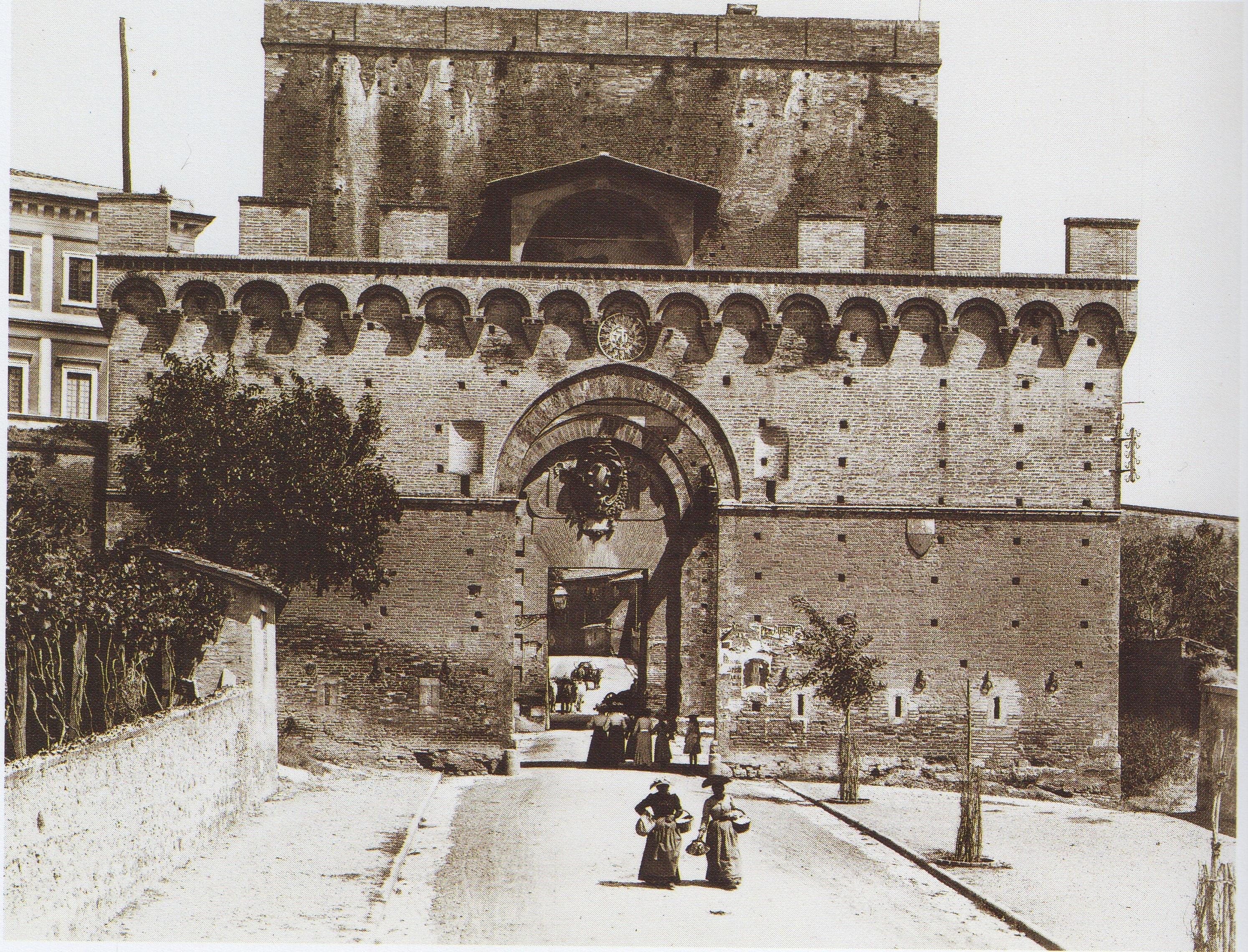 Porta romana orto for Porta romana